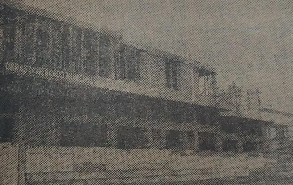 Obras do Mercado Municipal paralisadas - 1962