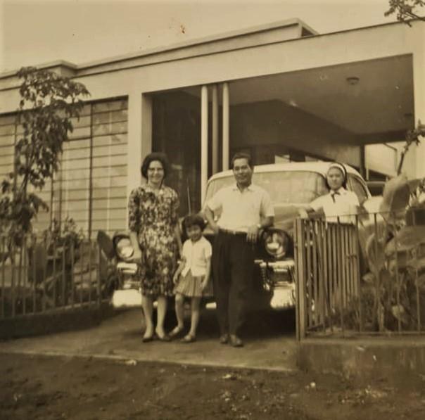 Residência da família Shimabukuro - Anos 1950