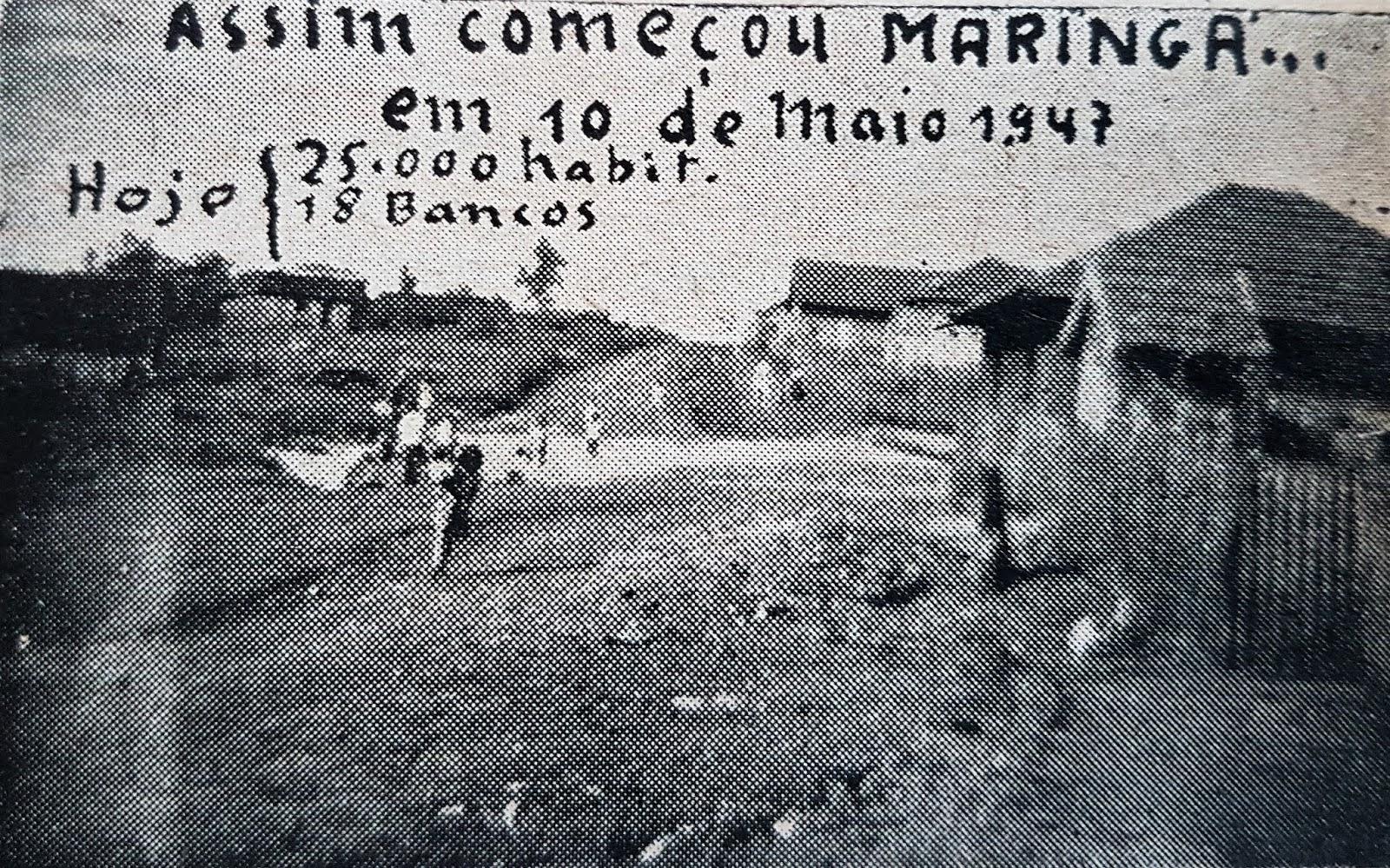 Maringá Velho - Década de 1940