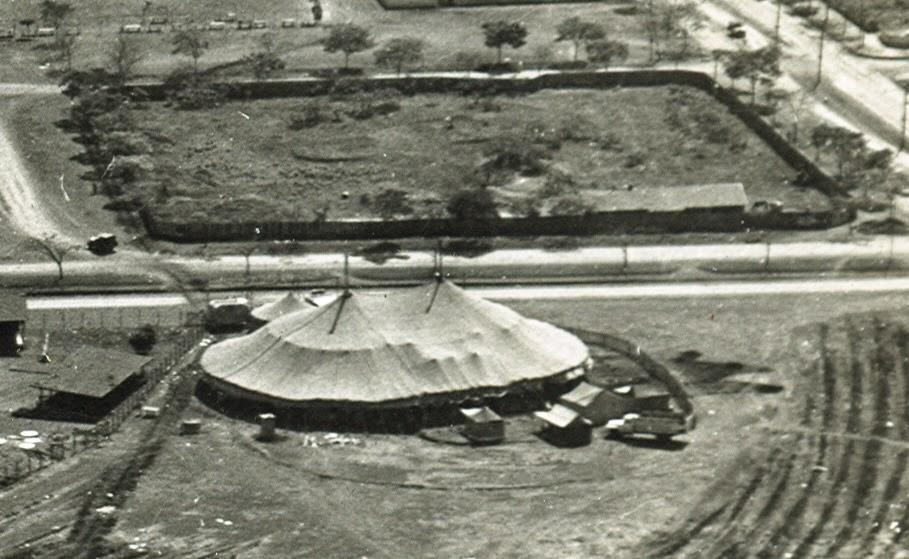 Circo em Maringá - Década de 1950