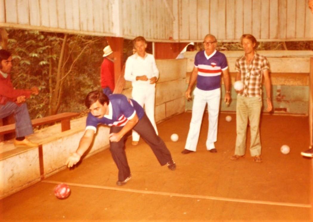 Campeonato de bocha - Anos 1970
