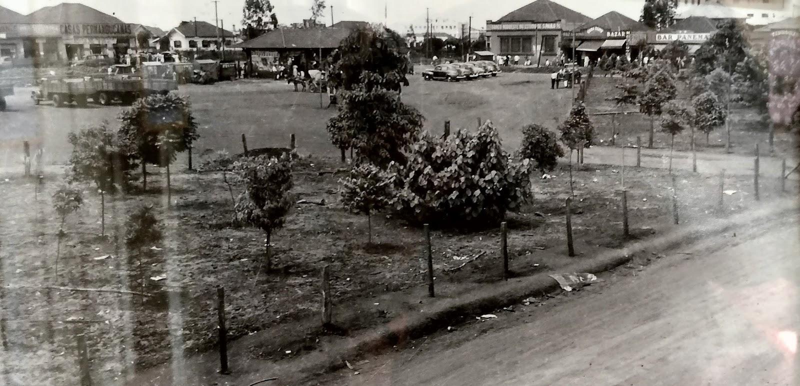 Praça da Rodoviária - Década de 1950