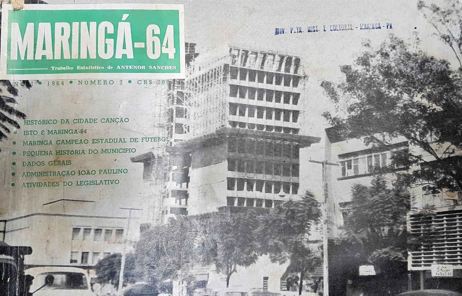 Avenida Getúlio Vargas - 1964
