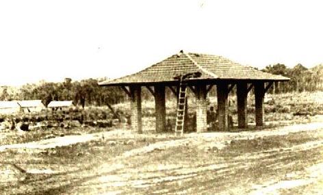 Construção da Rodoviária - Praça Napoleão Moreira da Silva