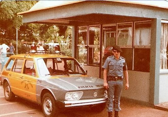 Módulo policial - Praça Raposo Tavares