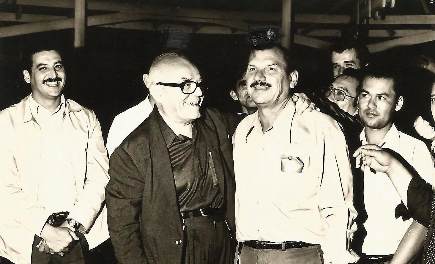Arlindo Marquezini e Vladimir Babkov - Década de 1970