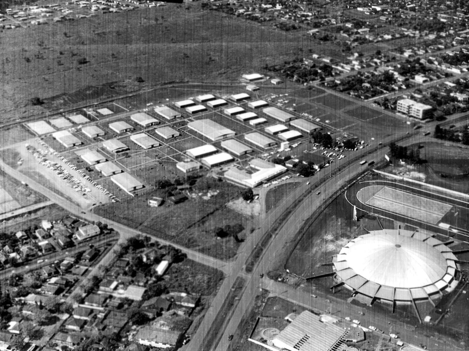Avenida Colombo - Década de 1970