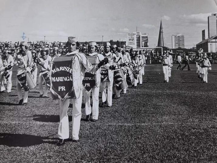 Concurso de Fanfarras no JAP - 1973