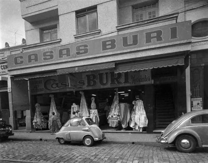 Casas Buri - Início dos anos 1960