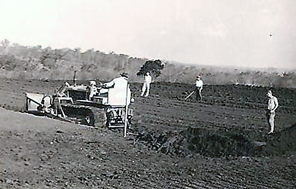 Obras do Country Club de Maringá - Final dos anos de 1950