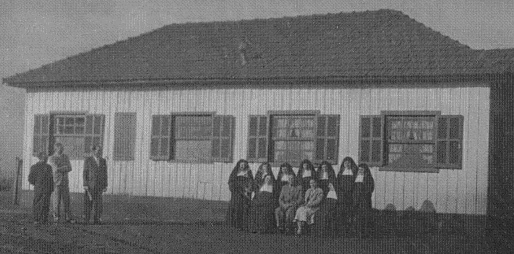Casa entregue às irmãs Carmelitas - 1953