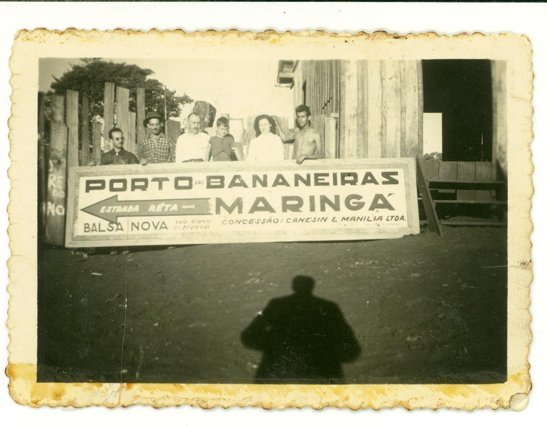 Como se indicava Maringá no Porto das Bananeiras