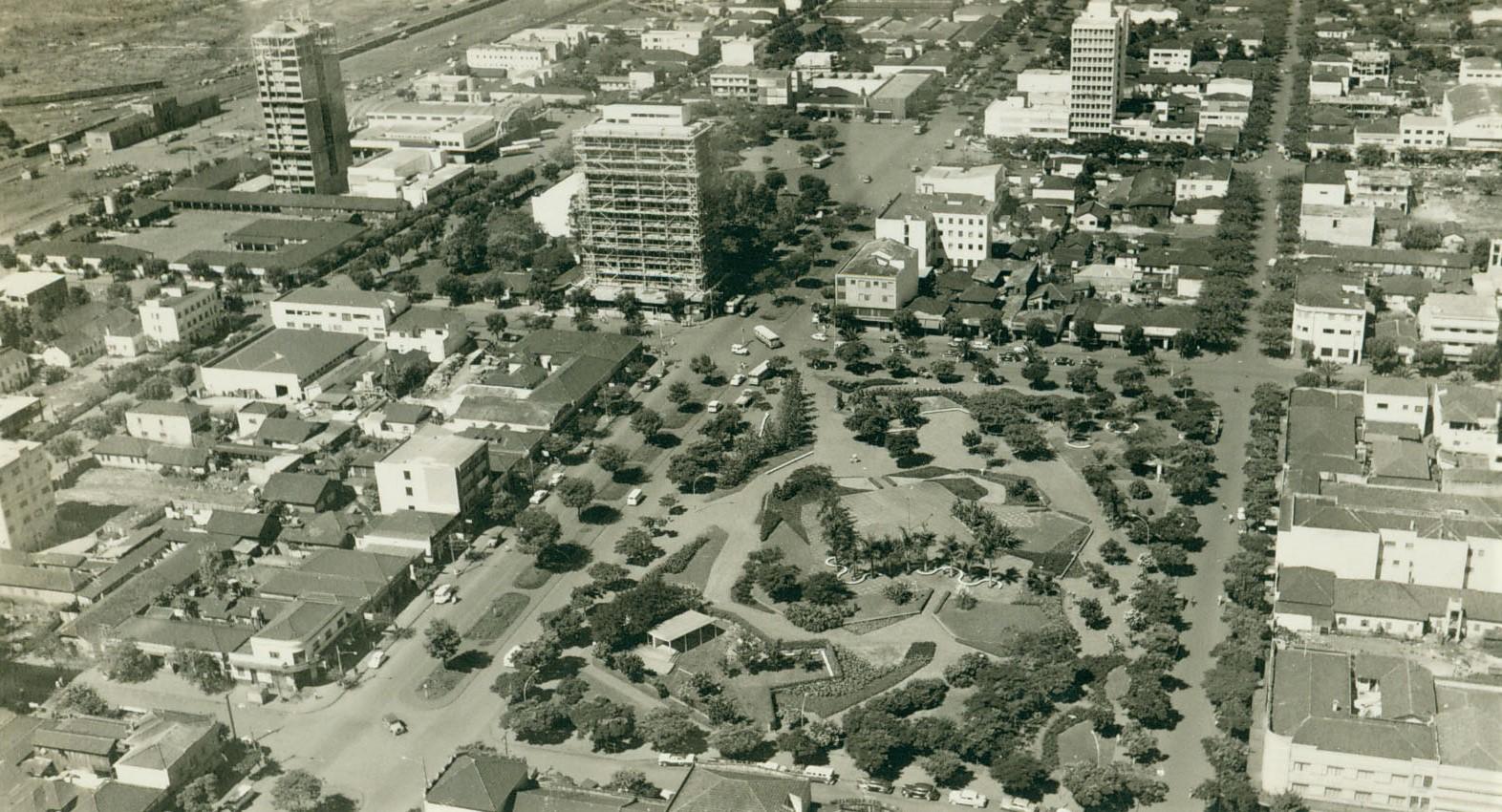 Praça Napoleão Moreira da Silva - Anos 1960