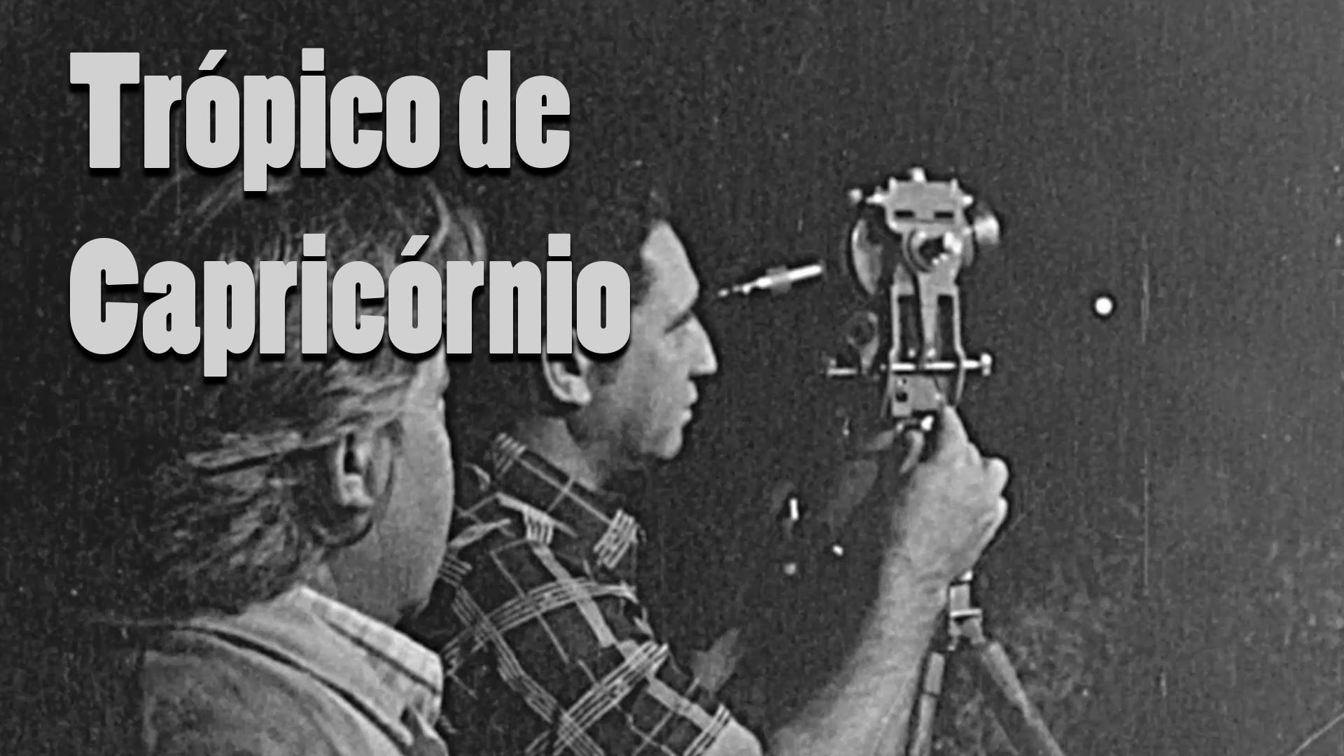 RARIDADE - Demarcação do Trópico de Capricórnio - Anos 1970