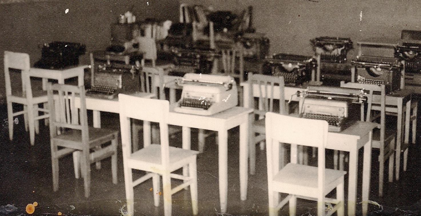Escola de Datilografia Universal - 1968