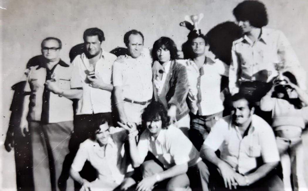 Torneio de truco na AFMM - 1967