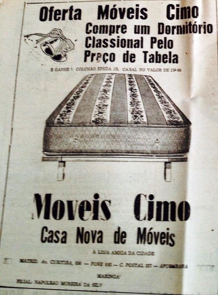 Anúncio: Móveis Cimo S.A.