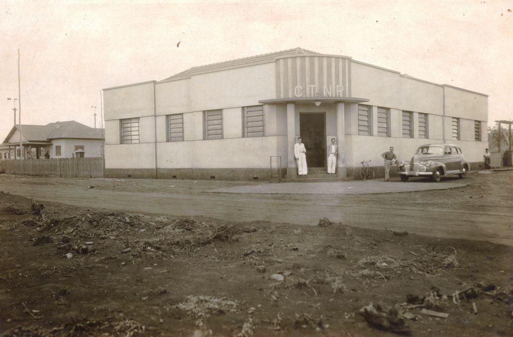 1º prédio da CTNP - Década de 1940