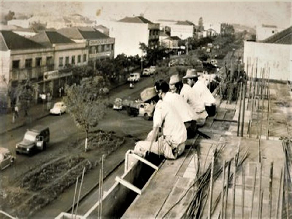 Operários e avenida Brasil - Década de 1960
