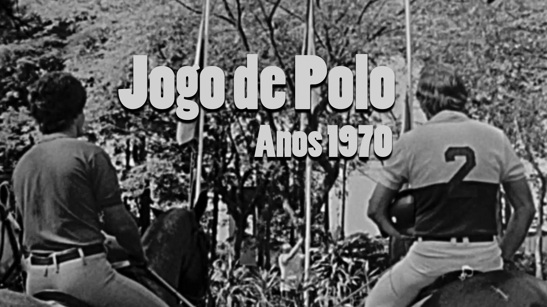 RARIDADE - Jogo de Polo nos anos 1970