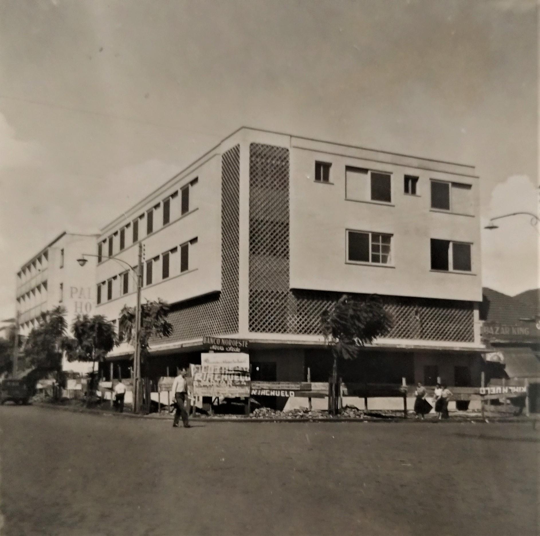 Nova sede do Banco Noroeste do Estado de S. Paulo - Década de 1950