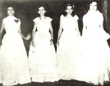 1º Baile de Debutantes de Maringá - 1952