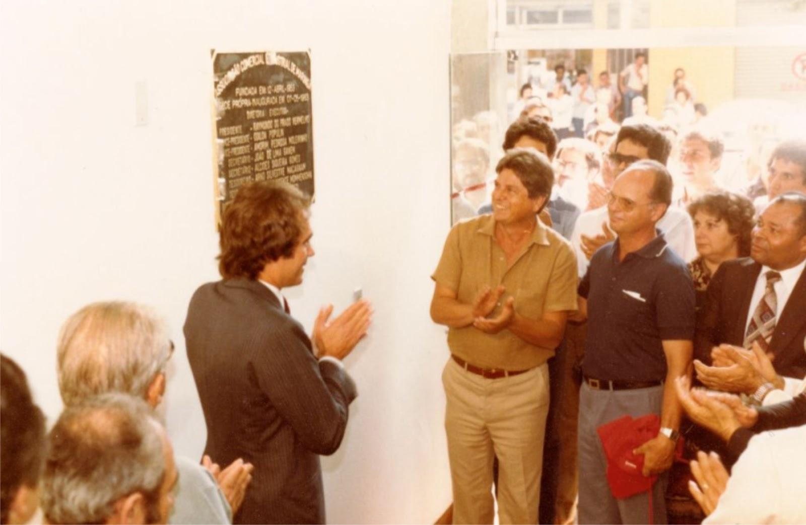 Inauguração da Sede da ACIM - 1983 (2ª postagem)