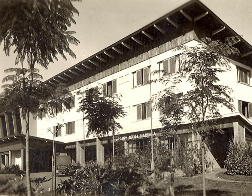 Grande Hotel Maringá - Década de 1950