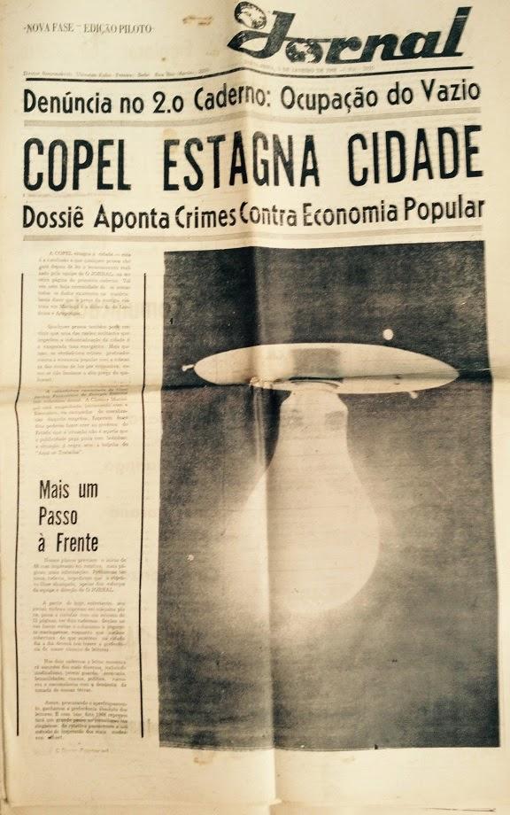 COPEL estagna Maringá - 1968