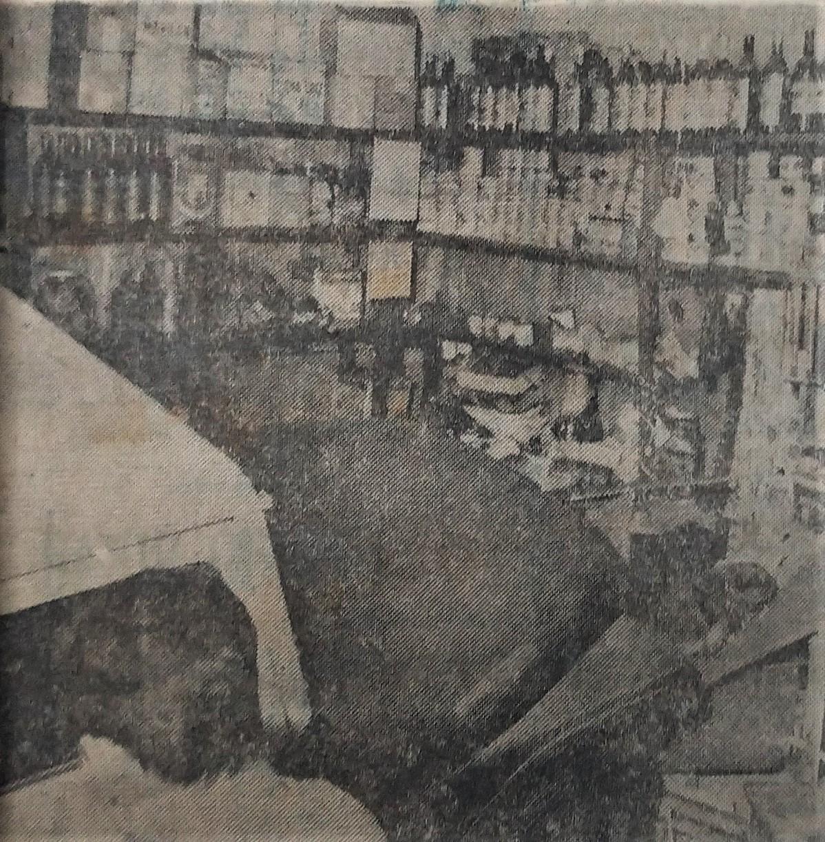 Jipe entra em bar - Outubro de 1962