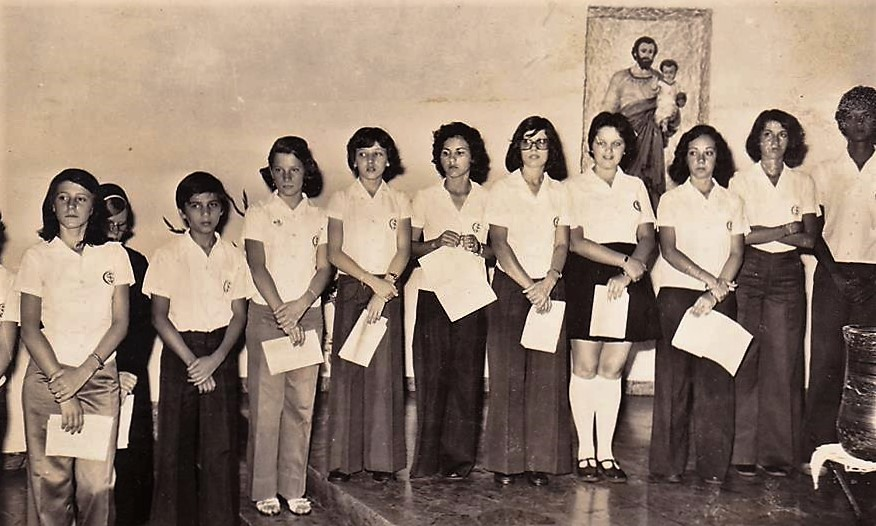 Magistério do Colégio Santo Inácio - 1976