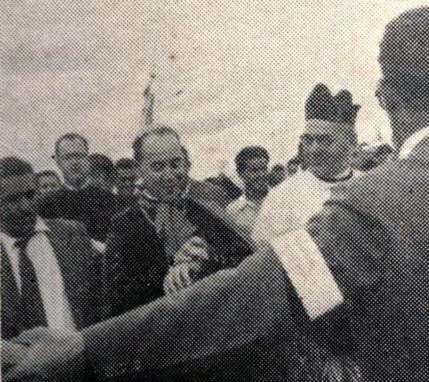 Flagrantes da chegada de Dom Jaime - 1957