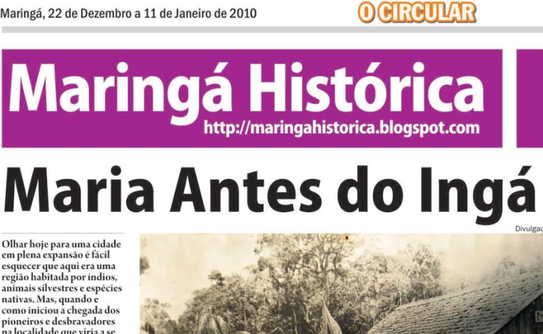 Maringá Histórica no O Circular