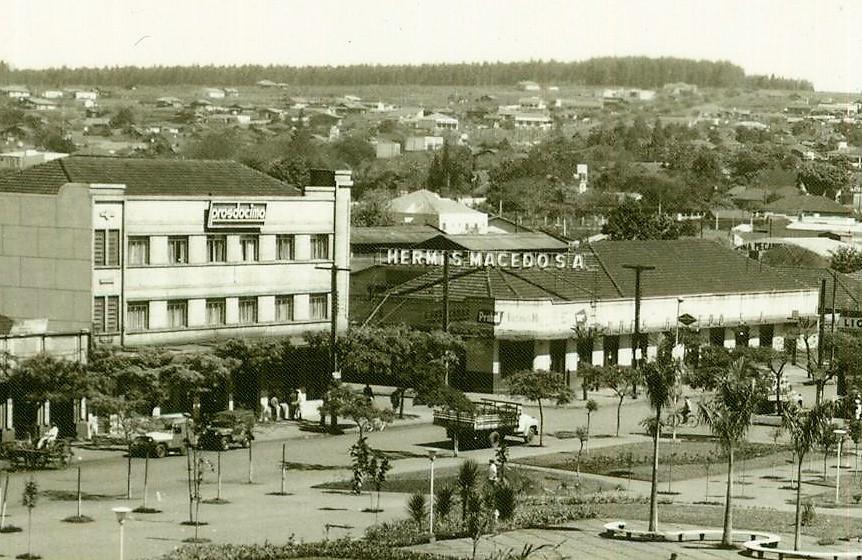 Rua Santos Dumont x Rua General Câmara - Década de 1960