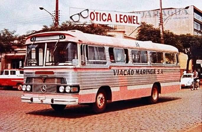 Ônibus da Viação Maringá - 1969