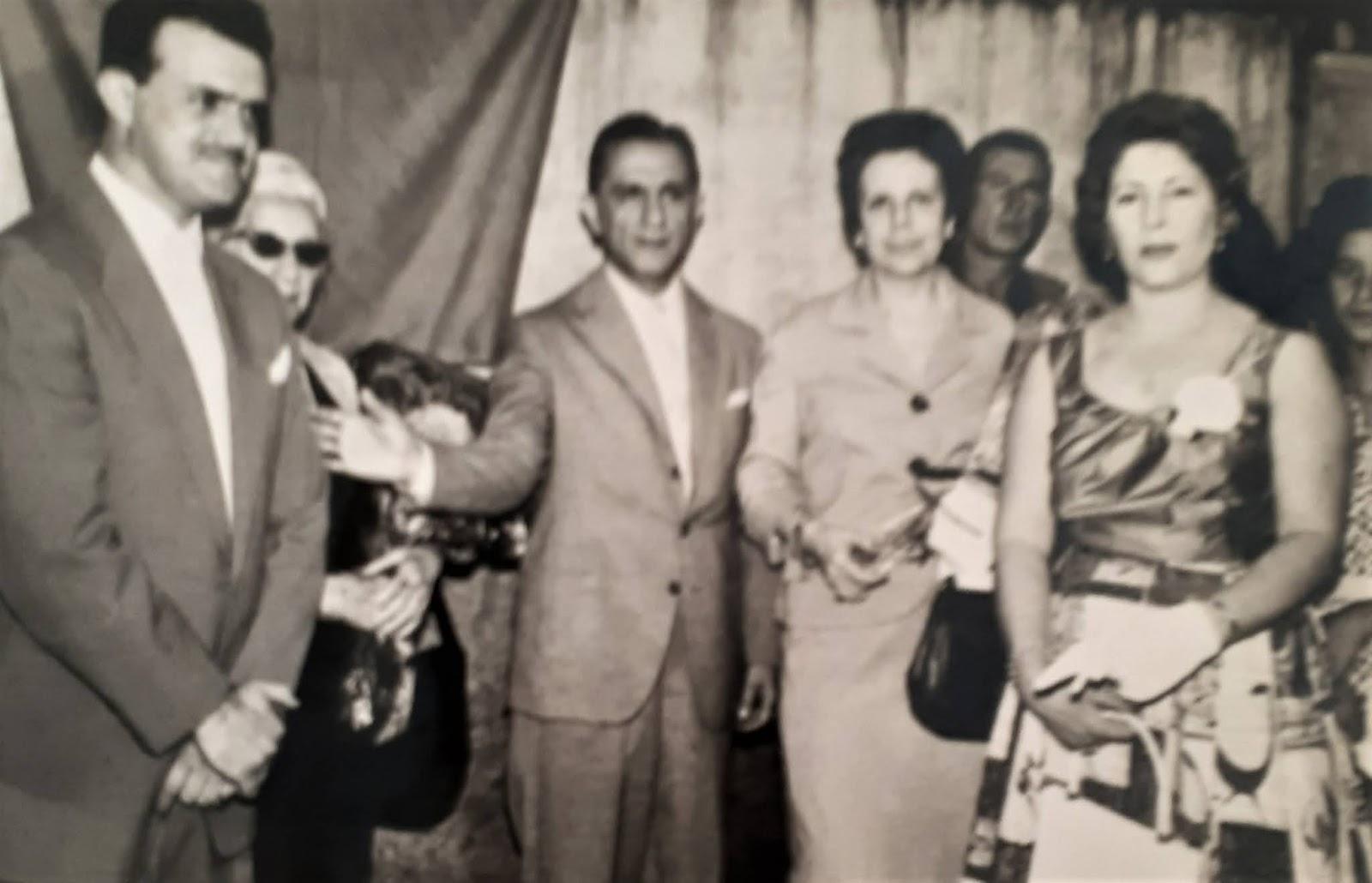 Joubert de Carvalho e sua esposa em Maringá - 1959