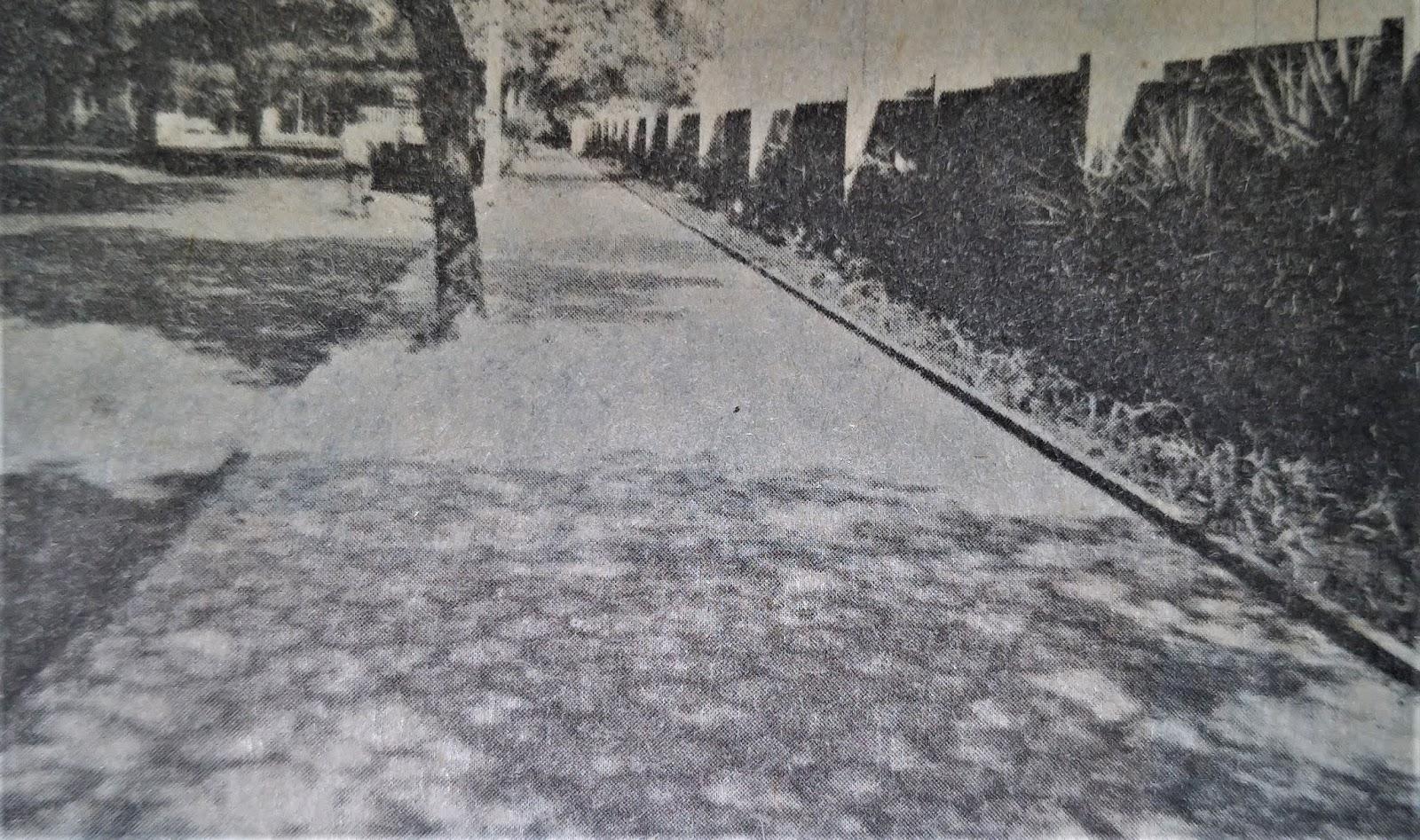 Avenida Tamandaré - 1985
