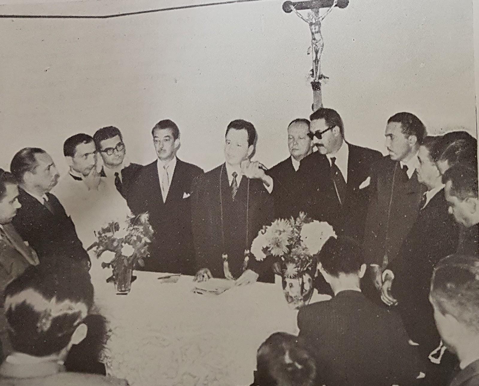 Instalação do Fórum da Comarca de Maringá - 1954