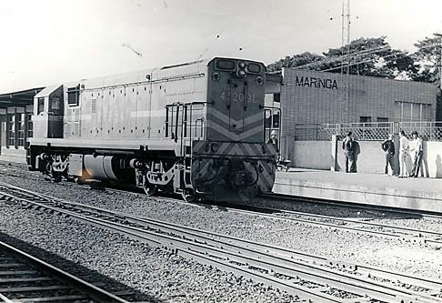 Estação Ferroviária de Maringá - 1981