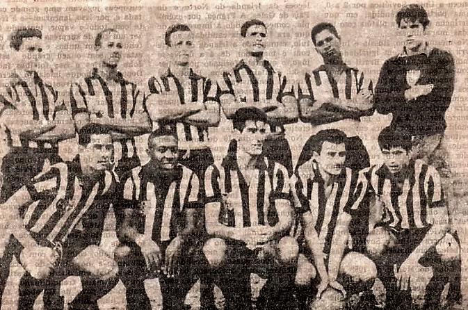 Escalação do Grêmio Esportivo Maringá (GEM) - 1963