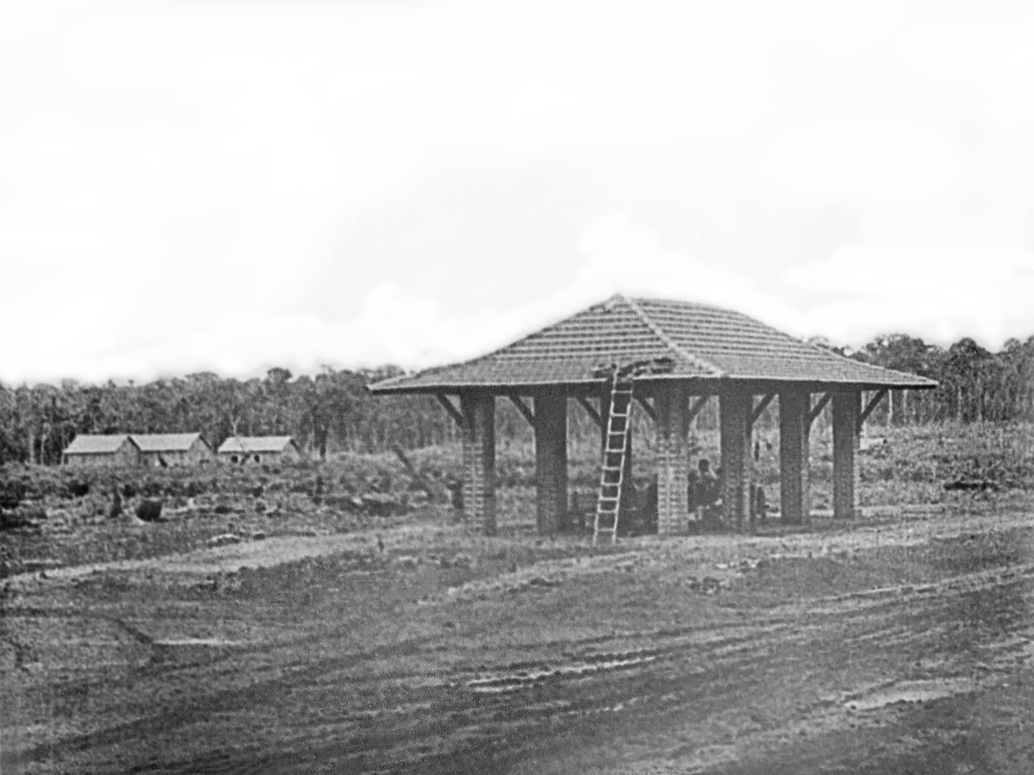 Estação Rodoviária de Maringá - Final dos anos 1940