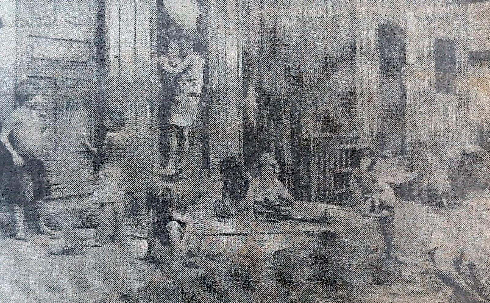 Problemas sociais com as crianças - 1962