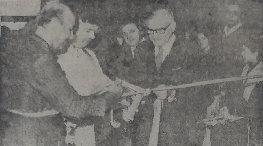 Inauguração do Cinerama Ouro Preto - Setembro de 1972