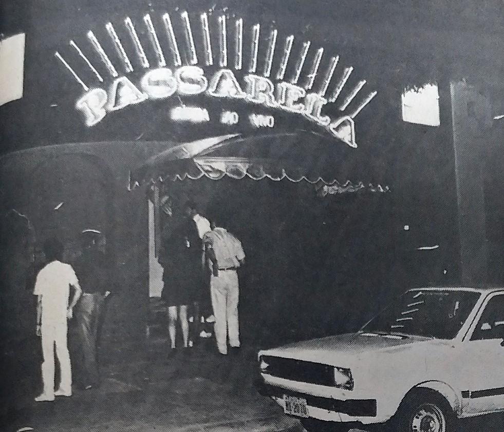 Inauguração da casa noturna Passarela - 1988