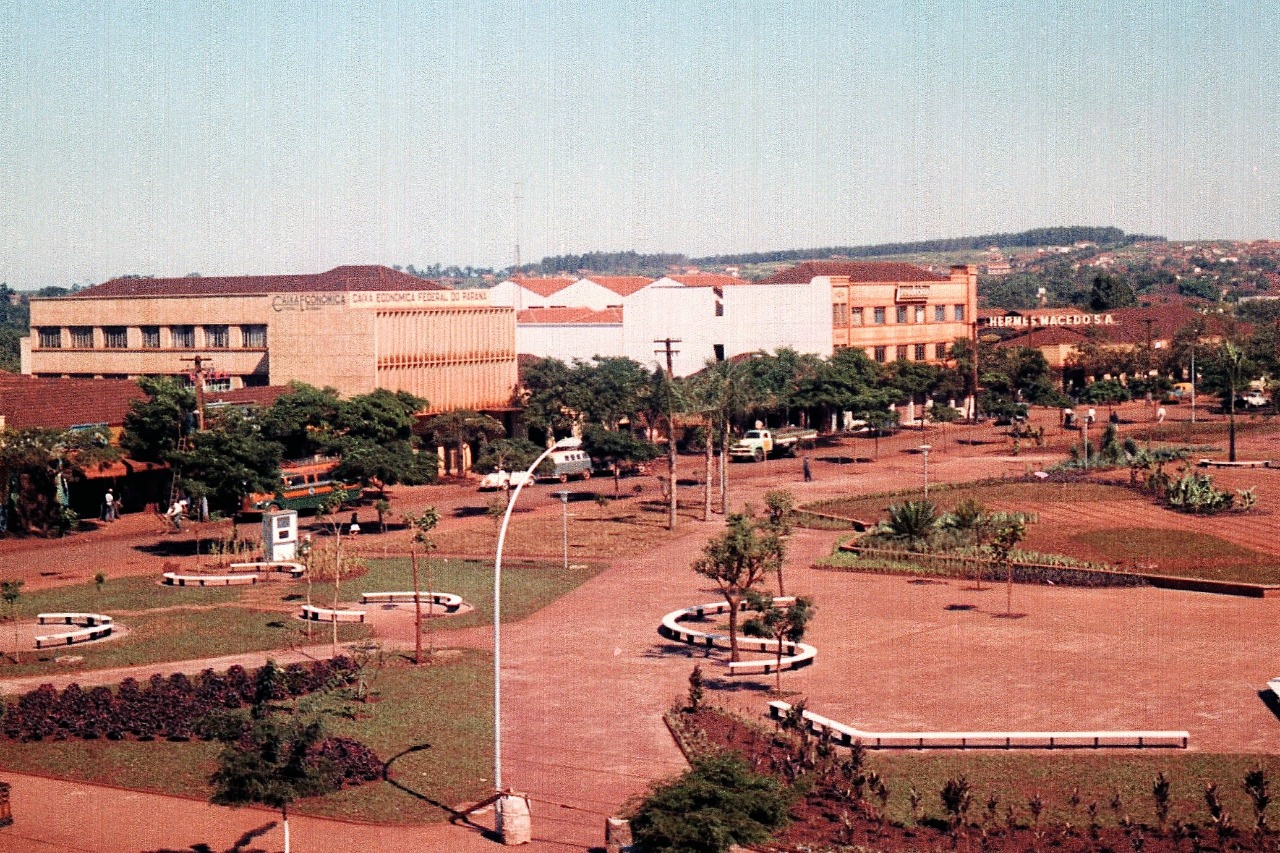 Praça Napoleão Moreira da Silva - 1962