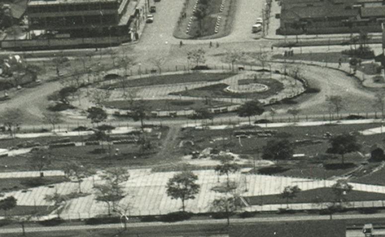 Praça Dom Pedro II - Década de 1960