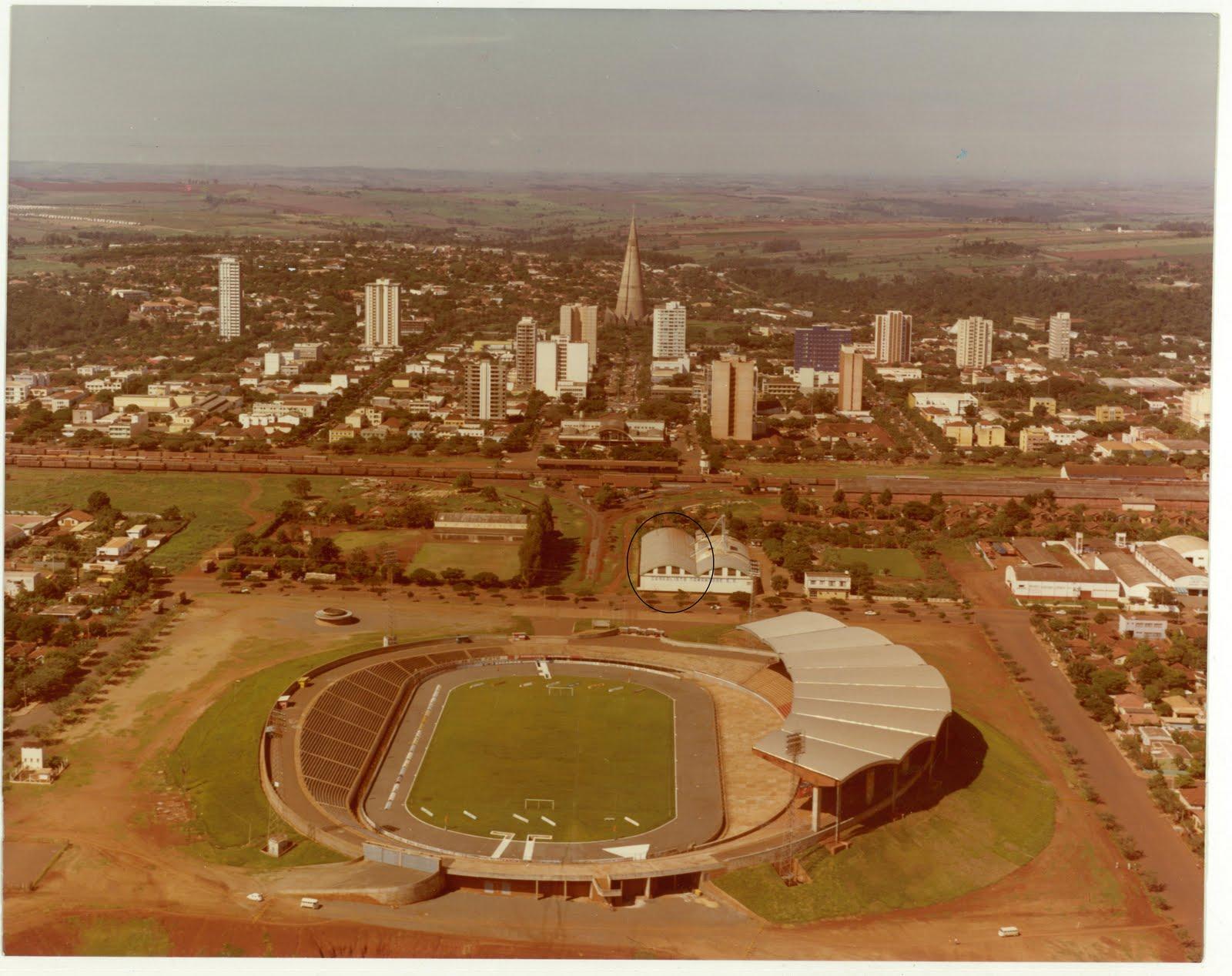 Prédio do atual Mercadão Municipal - 1980