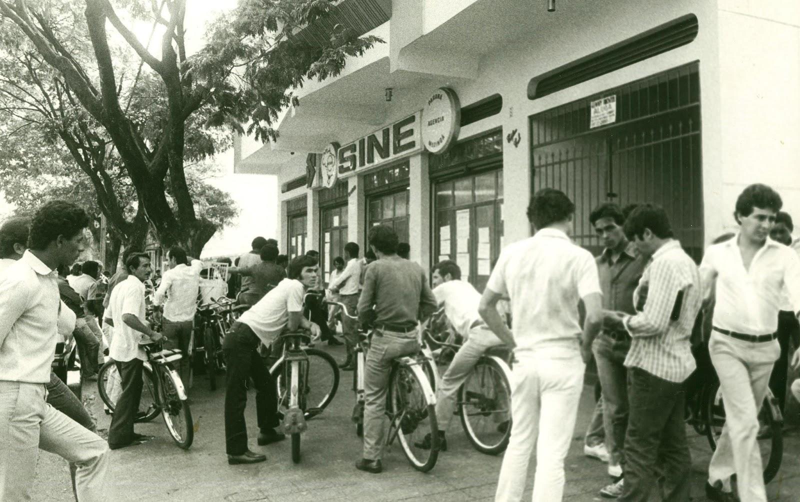 Agência do SINE - Década de 1980