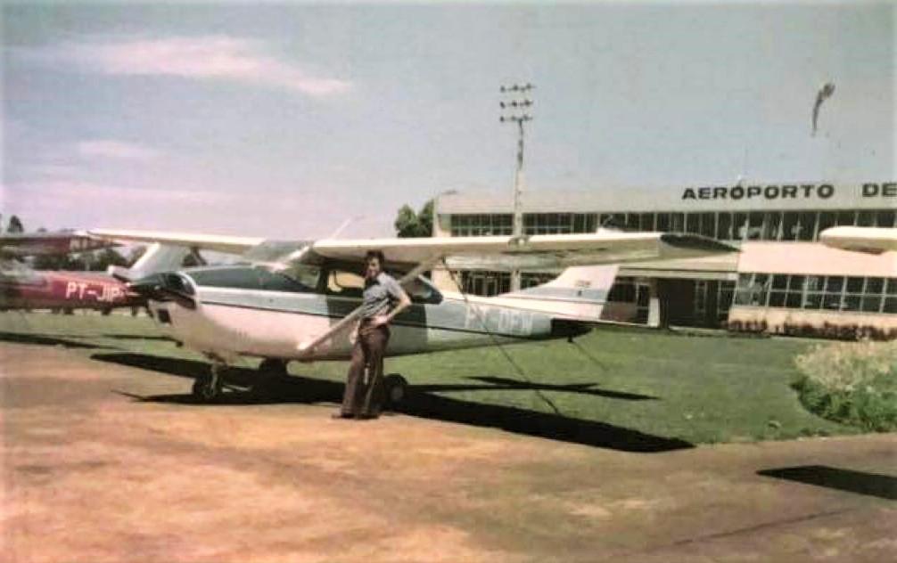 Pista do Aeroporto de Maringá - Década de 1970