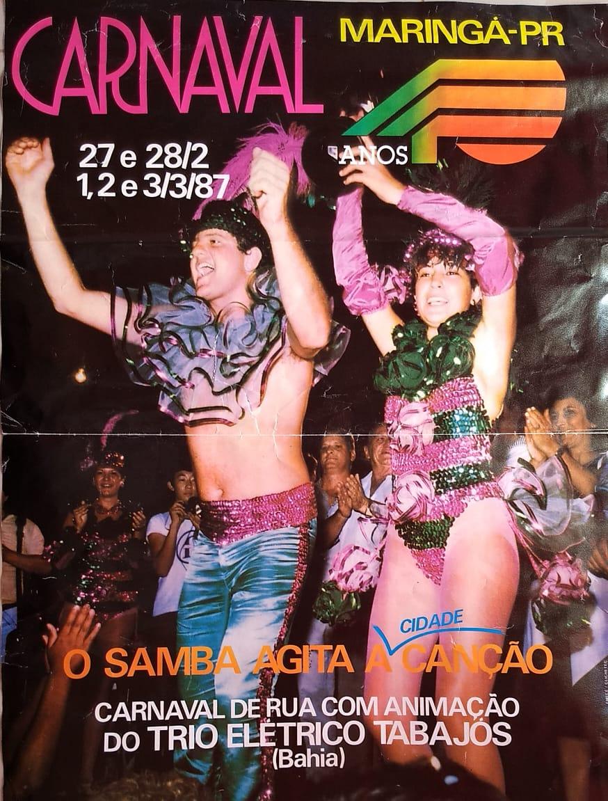 Carnaval de rua - 1987